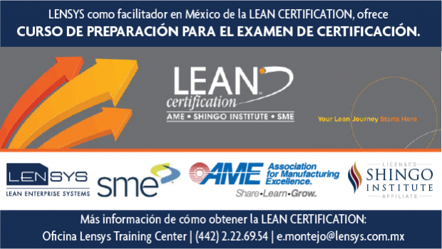 Banner Lean Certification